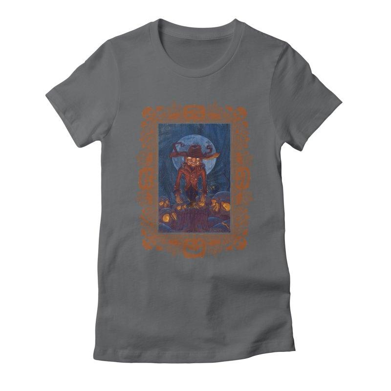 La Calabaza Women's Fitted T-Shirt by Mike Bilz's Artist Shop