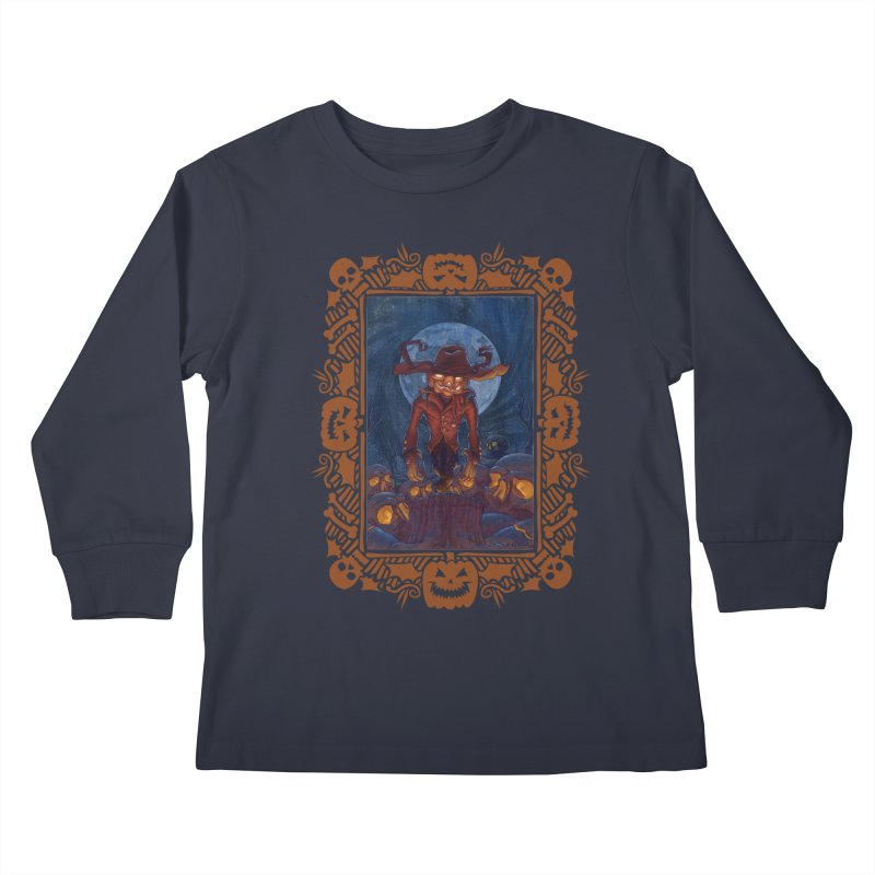 La Calabaza Kids Longsleeve T-Shirt by Mike Bilz's Artist Shop