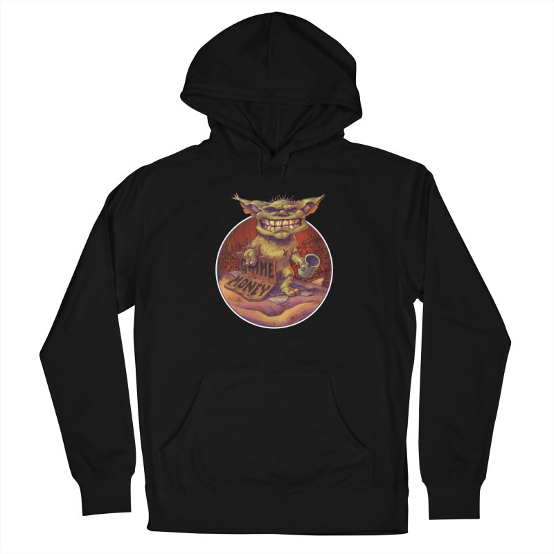 Living the Dream Women's French Terry Pullover Hoody by Mike Bilz's Artist Shop
