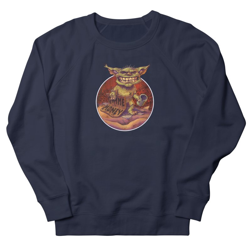 Living the Dream Women's French Terry Sweatshirt by Mike Bilz's Artist Shop