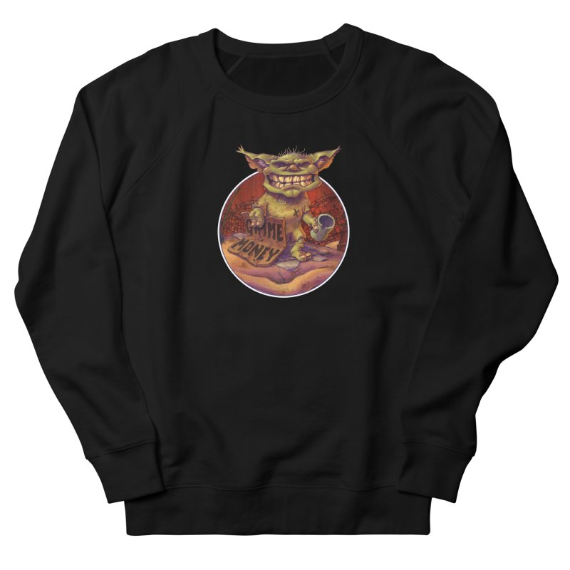 Living the Dream Men's French Terry Sweatshirt by Mike Bilz's Artist Shop