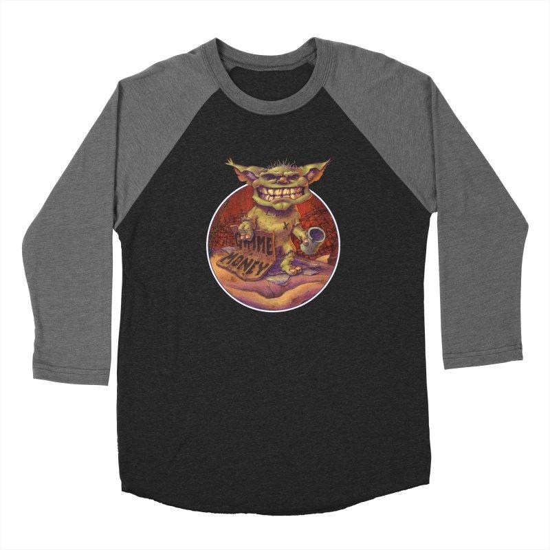Living the Dream Men's Baseball Triblend T-Shirt by Mike Bilz's Artist Shop