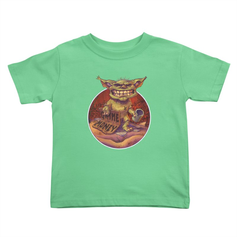 Living the Dream Kids Toddler T-Shirt by Mike Bilz's Artist Shop