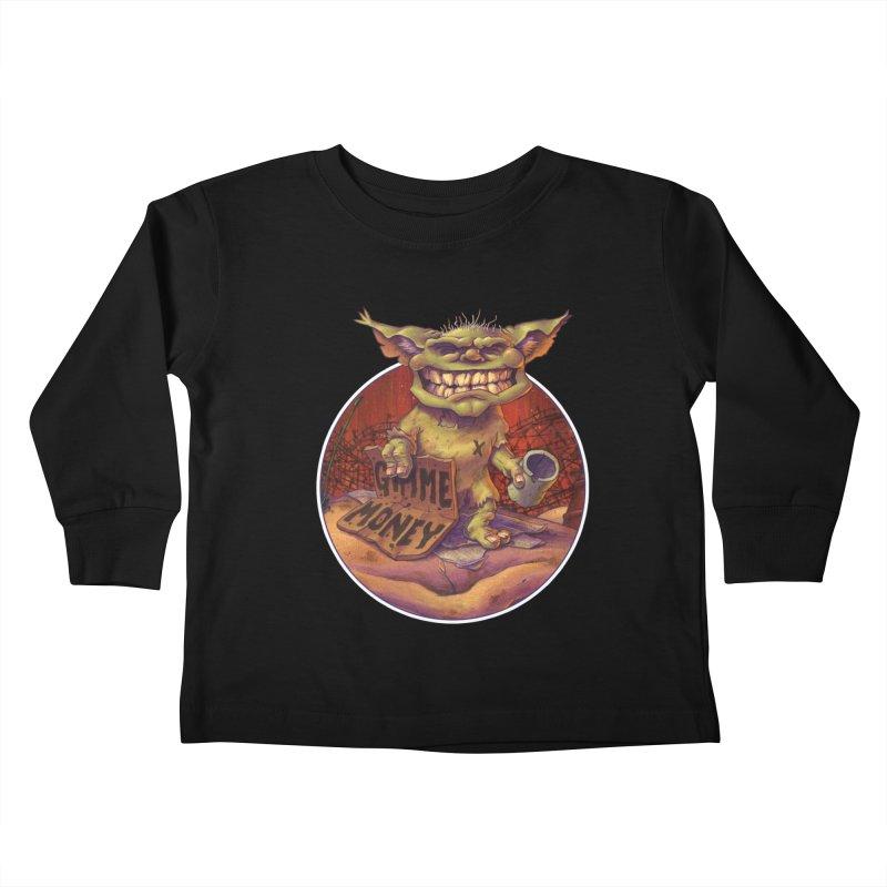 Living the Dream Kids Toddler Longsleeve T-Shirt by Mike Bilz's Artist Shop