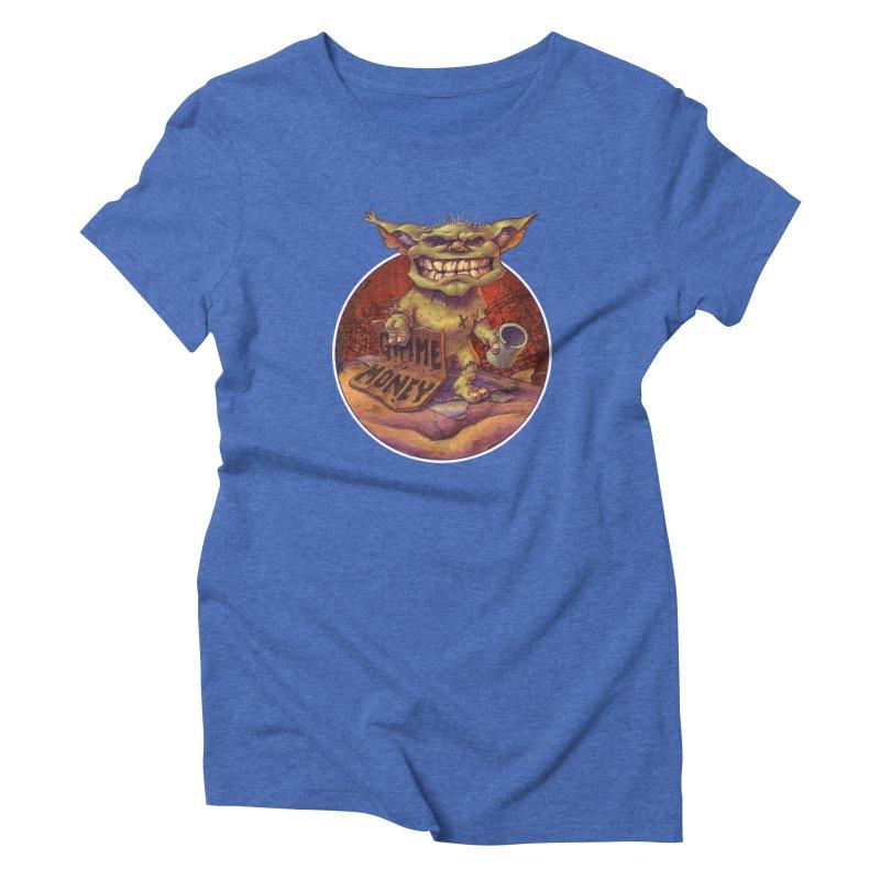 Living the Dream Women's Triblend T-shirt by Mike Bilz's Artist Shop