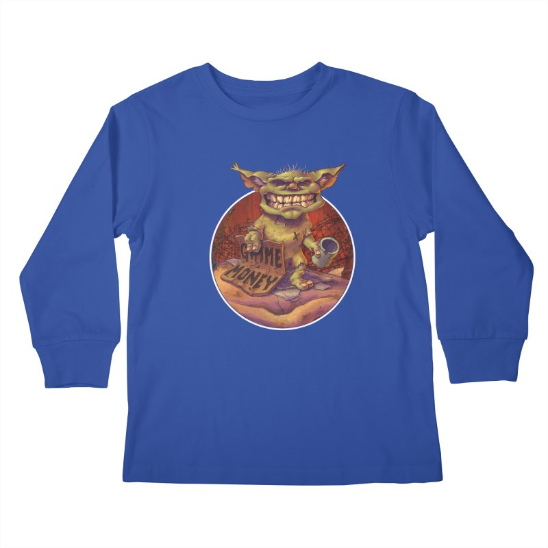 Living the Dream Kids Longsleeve T-Shirt by Mike Bilz's Artist Shop