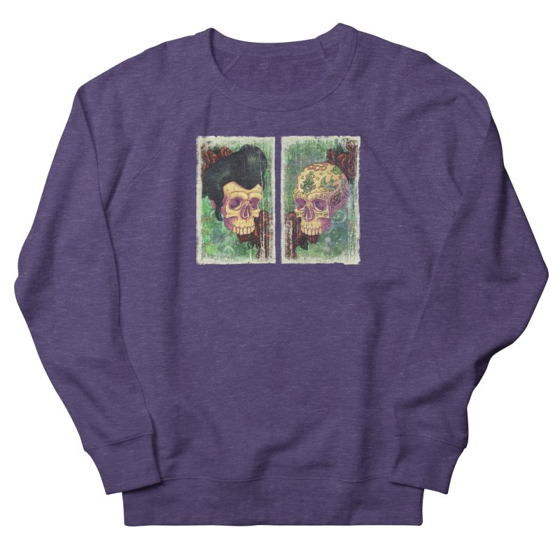 Pomp & Circumstance Women's French Terry Sweatshirt by Mike Bilz's Artist Shop