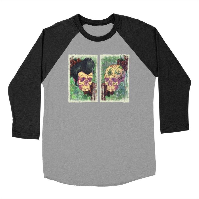 Pomp & Circumstance Women's Baseball Triblend T-Shirt by Mike Bilz's Artist Shop
