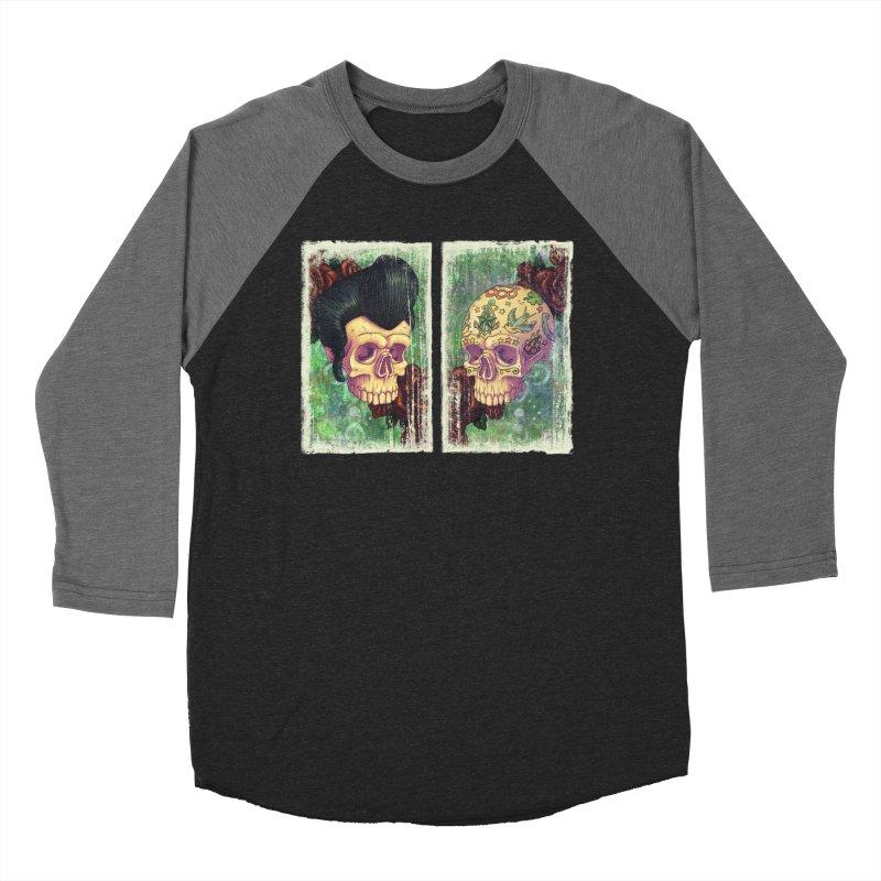 Pomp & Circumstance Men's Baseball Triblend T-Shirt by Mike Bilz's Artist Shop