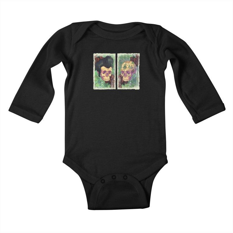 Pomp & Circumstance Kids Baby Longsleeve Bodysuit by Mike Bilz's Artist Shop