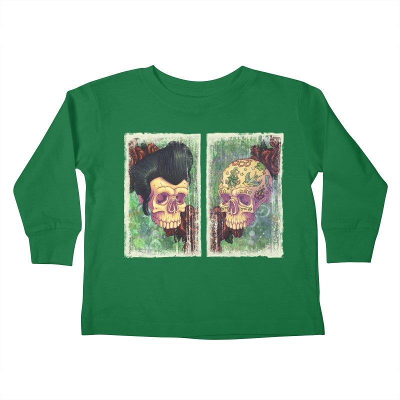 Pomp & Circumstance Kids Toddler Longsleeve T-Shirt by Mike Bilz's Artist Shop