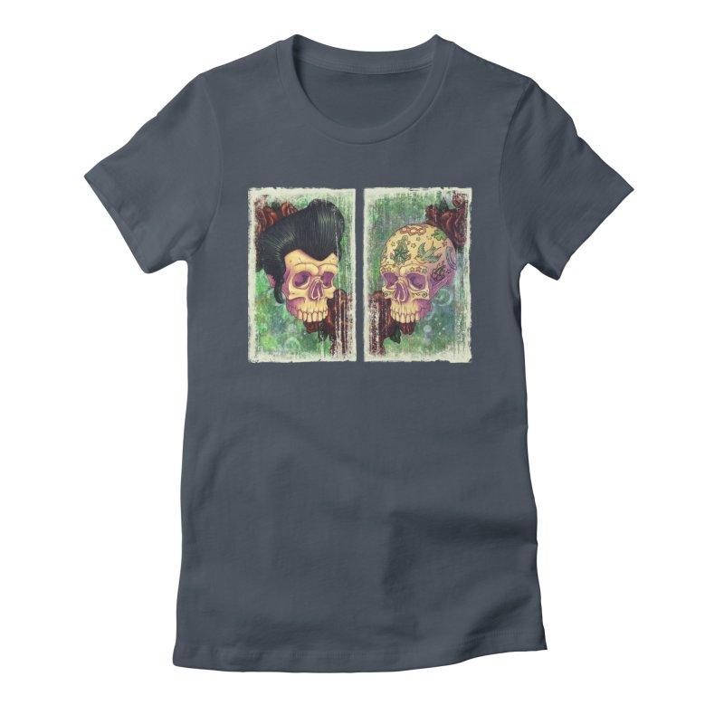 Pomp & Circumstance Women's Fitted T-Shirt by Mike Bilz's Artist Shop