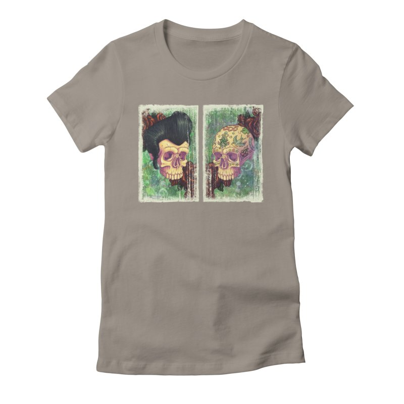 Pomp & Circumstance Women's Fitted T-Shirt by Mike Bilz's Artist Shop