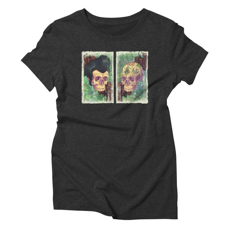 Pomp & Circumstance Women's Triblend T-Shirt by Mike Bilz's Artist Shop