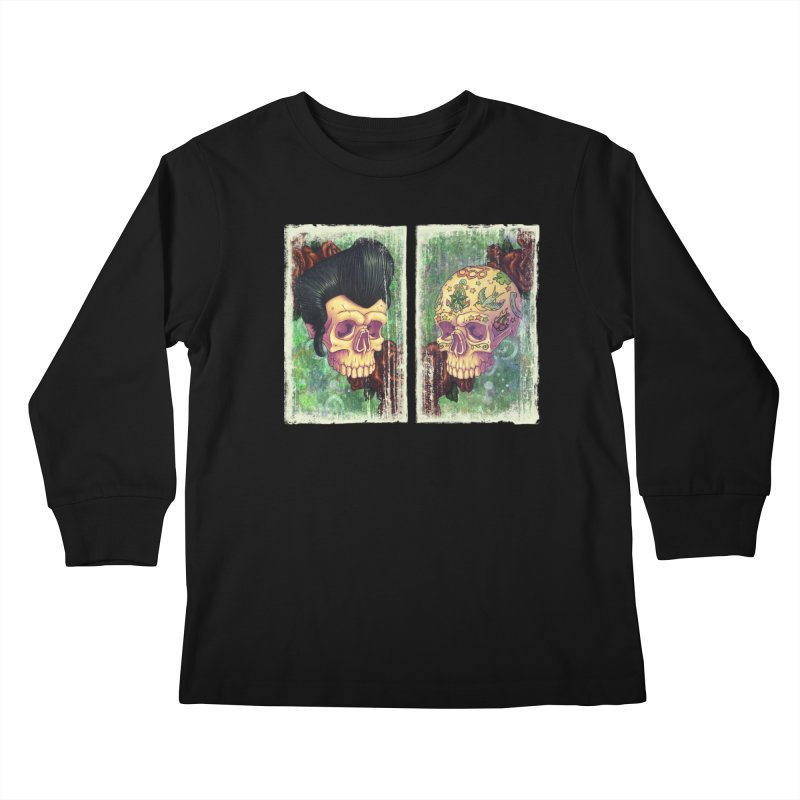 Pomp & Circumstance Kids Longsleeve T-Shirt by Mike Bilz's Artist Shop