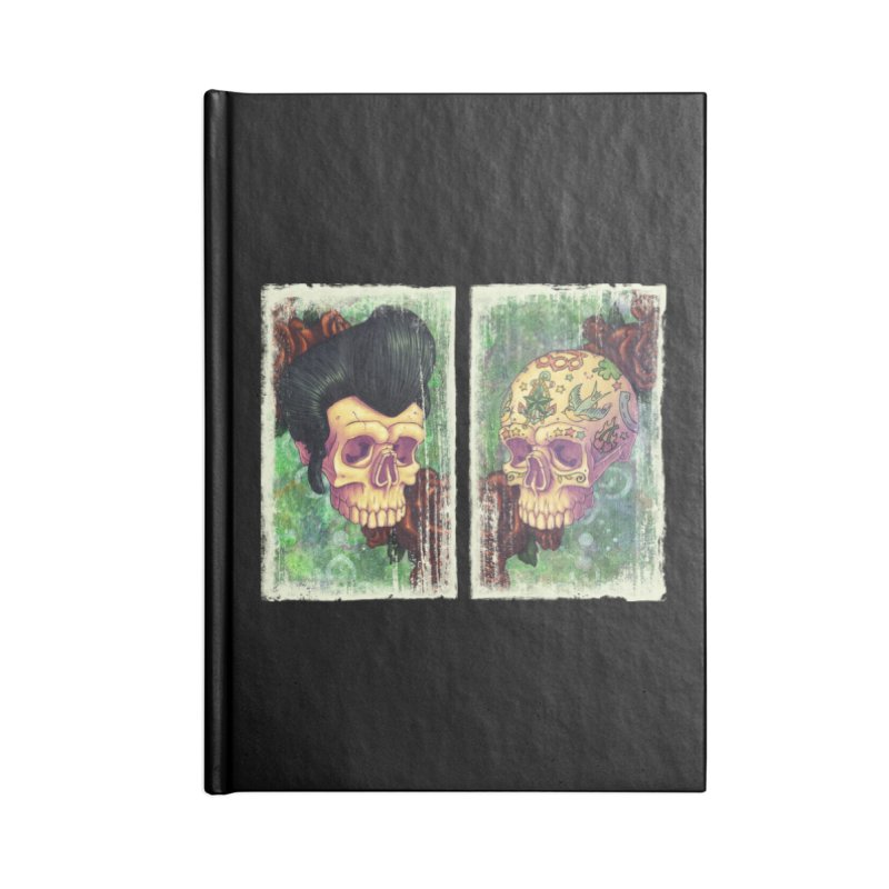 Pomp & Circumstance Accessories Notebook by Mike Bilz's Artist Shop