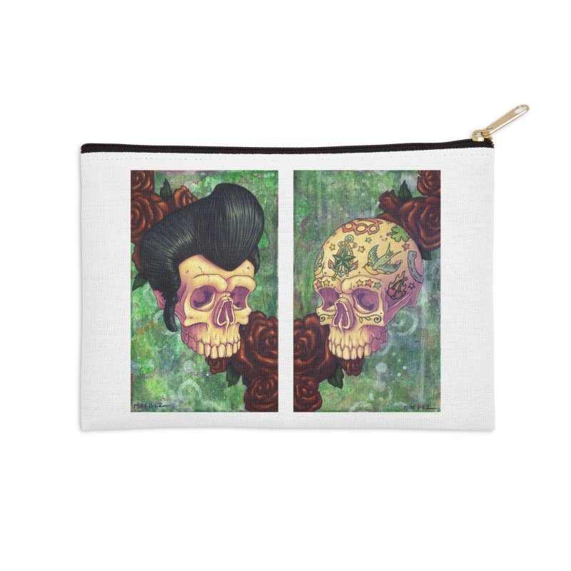 Pomp & Circumstance (print) Accessories Zip Pouch by Mike Bilz's Artist Shop