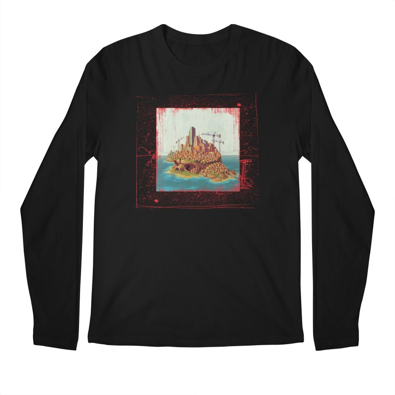 Sprawl Men's Longsleeve T-Shirt by Mike Bilz's Artist Shop
