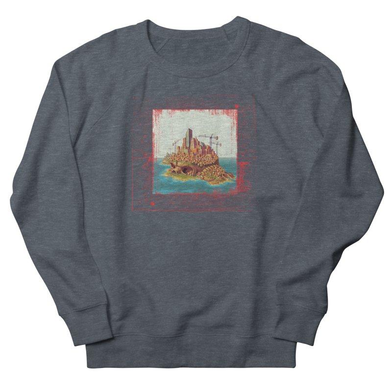 Sprawl Women's French Terry Sweatshirt by Mike Bilz's Artist Shop