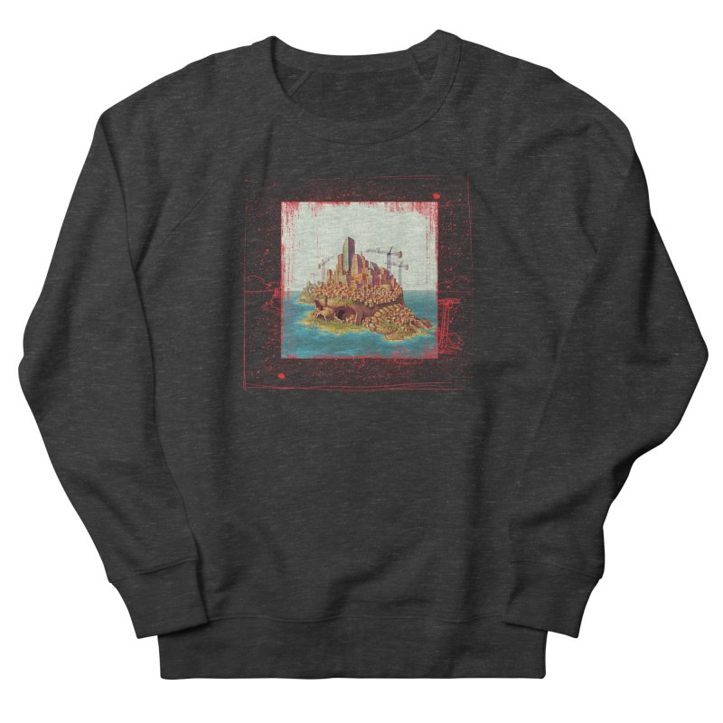 Sprawl Men's Sweatshirt by Mike Bilz's Artist Shop
