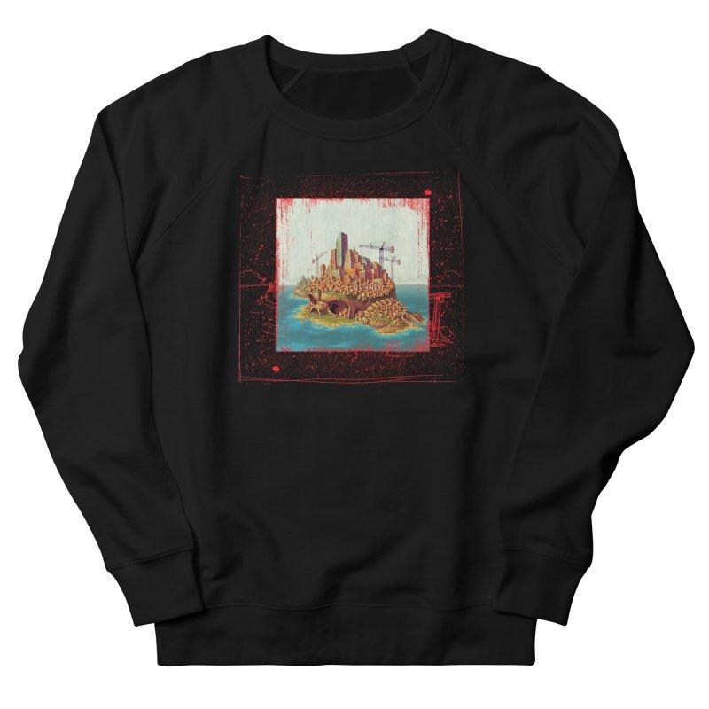 Sprawl Men's French Terry Sweatshirt by Mike Bilz's Artist Shop