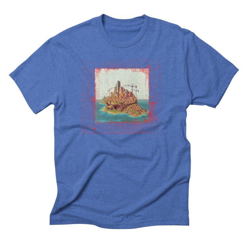 Sprawl Men's Triblend T-Shirt by Mike Bilz's Artist Shop