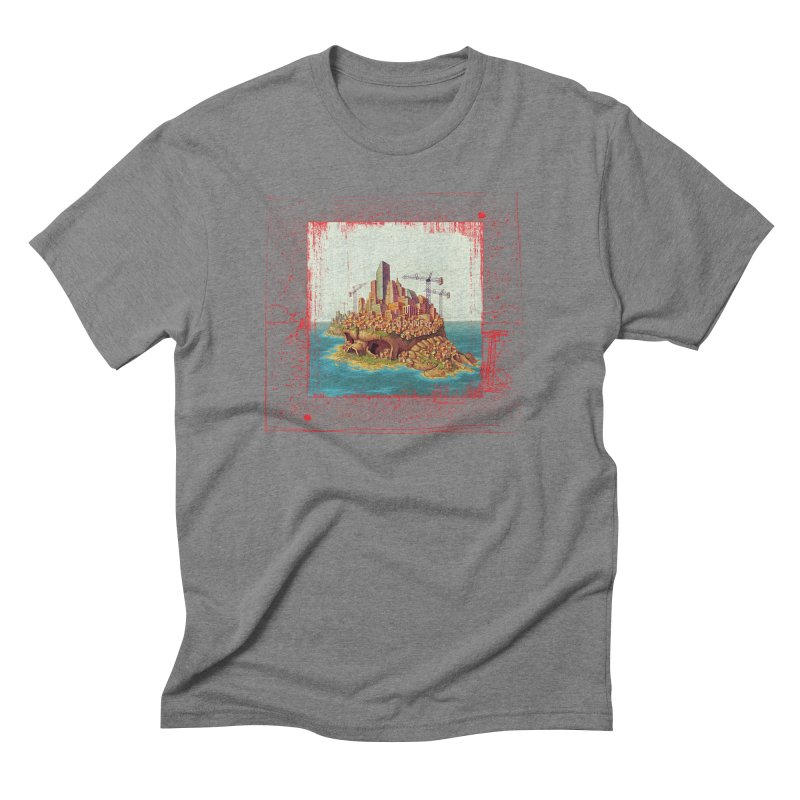 Sprawl Men's Triblend T-shirt by Mike Bilz's Artist Shop