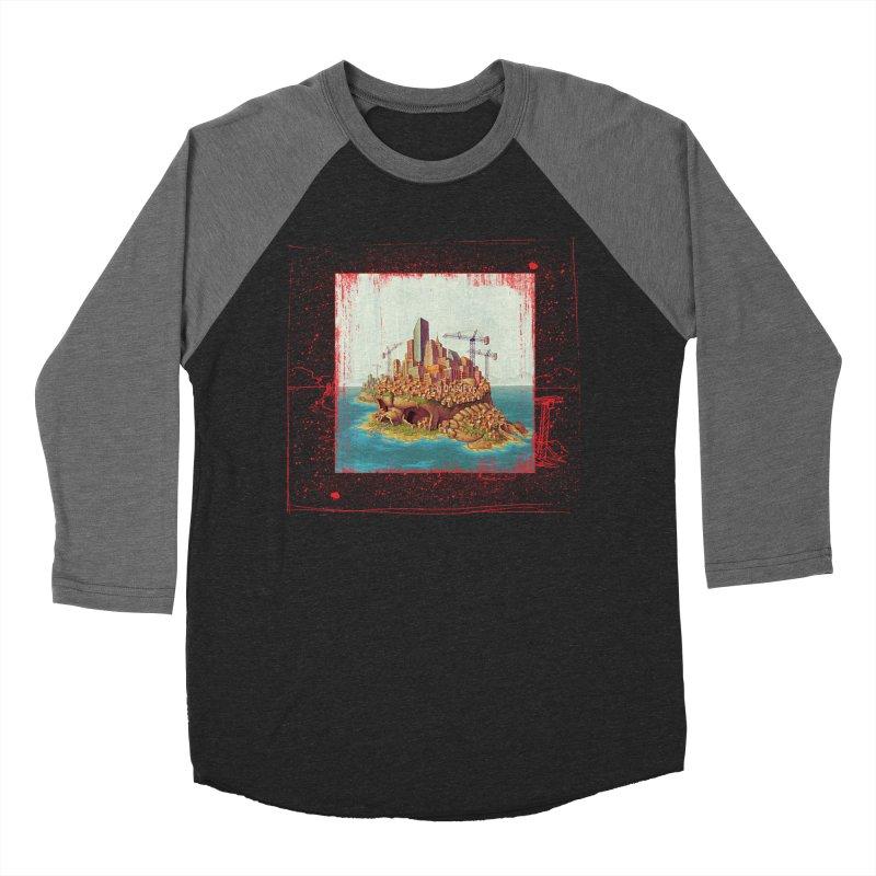 Sprawl Women's Baseball Triblend T-Shirt by Mike Bilz's Artist Shop