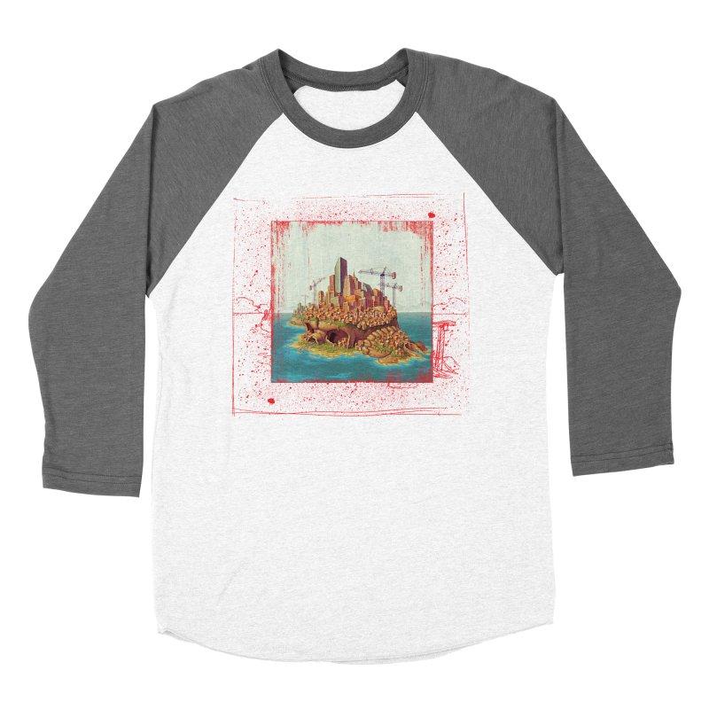 Sprawl Men's Baseball Triblend T-Shirt by Mike Bilz's Artist Shop