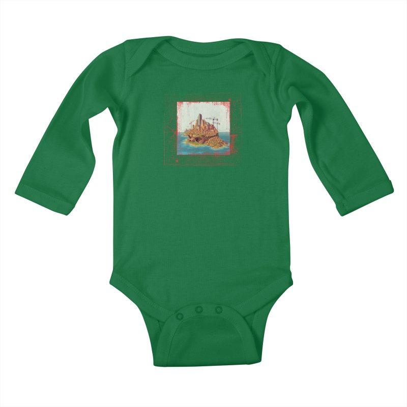 Sprawl Kids Baby Longsleeve Bodysuit by Mike Bilz's Artist Shop