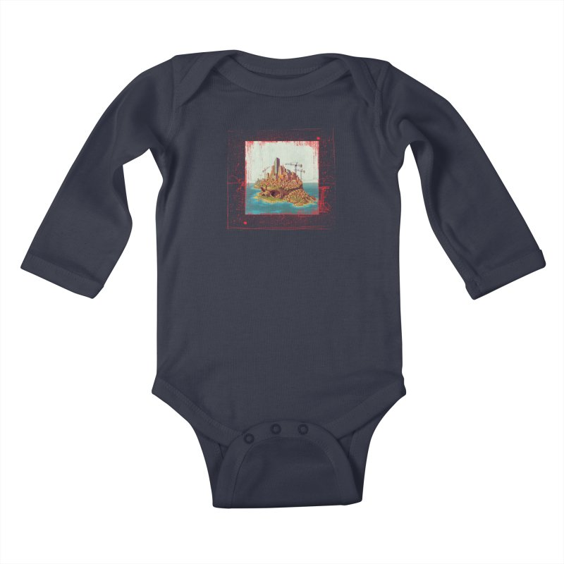 Sprawl Kids Baby Longsleeve Bodysuit by Mike Bilz's Artist Shop