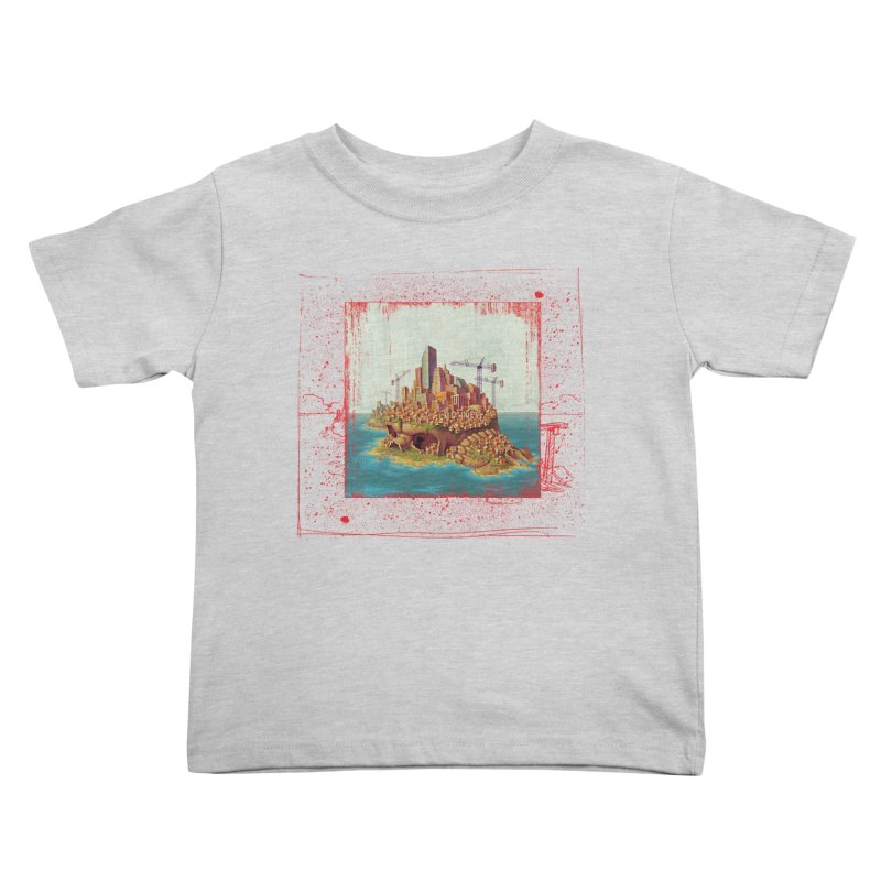 Sprawl Kids Toddler T-Shirt by Mike Bilz's Artist Shop