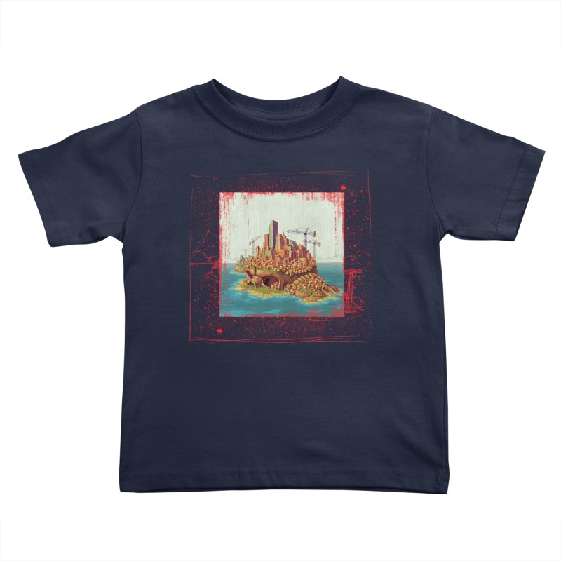Sprawl Kids Toddler T-Shirt by Mike Bilz's Artist Shop
