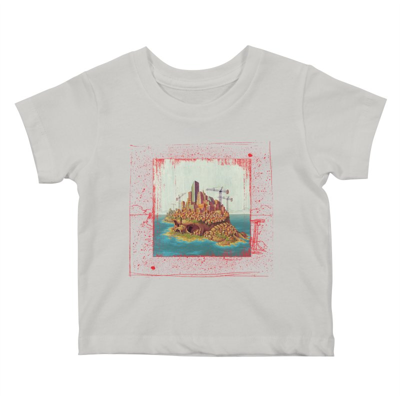 Sprawl Kids Baby T-Shirt by Mike Bilz's Artist Shop
