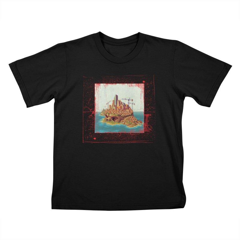 Sprawl Kids T-Shirt by Mike Bilz's Artist Shop