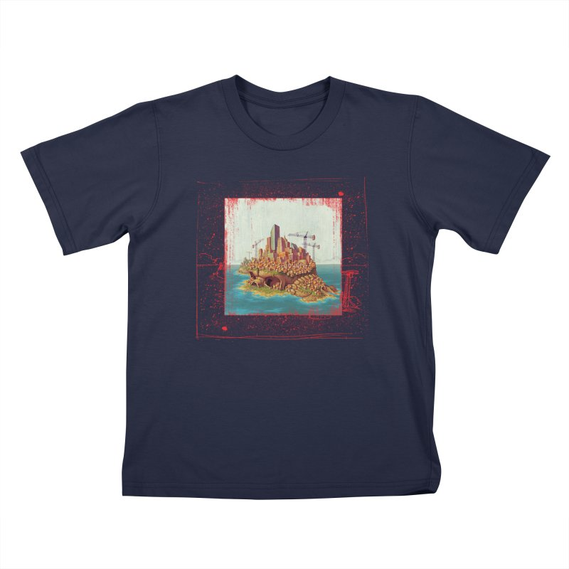 Sprawl Kids T-shirt by Mike Bilz's Artist Shop