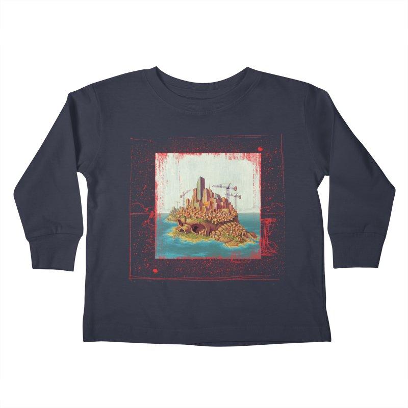 Sprawl Kids Toddler Longsleeve T-Shirt by Mike Bilz's Artist Shop