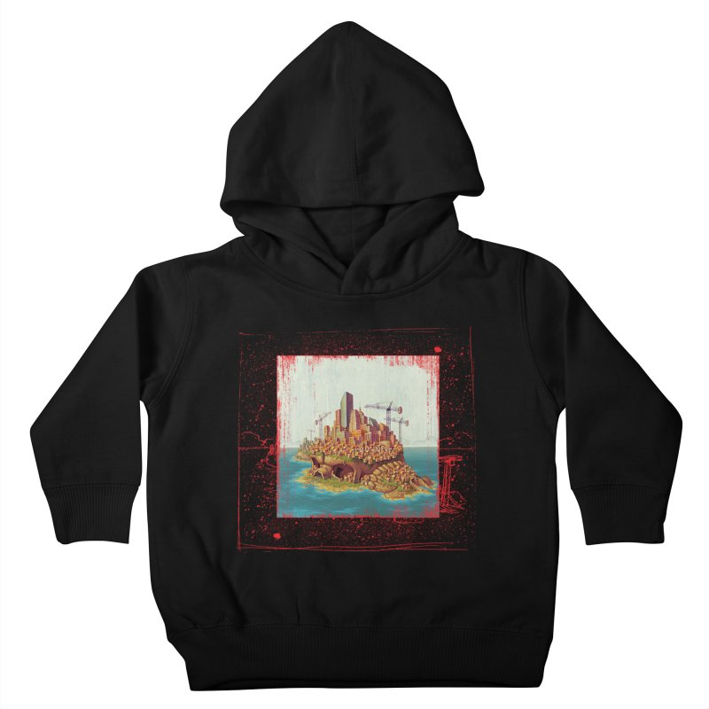 Sprawl Kids Toddler Pullover Hoody by Mike Bilz's Artist Shop
