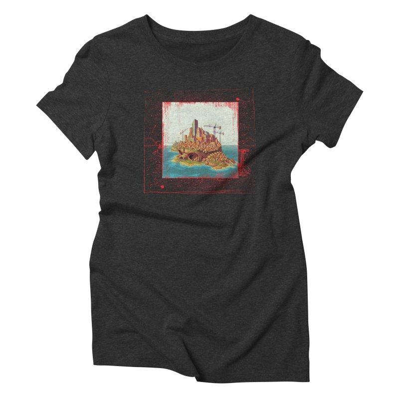Sprawl Women's Triblend T-shirt by Mike Bilz's Artist Shop