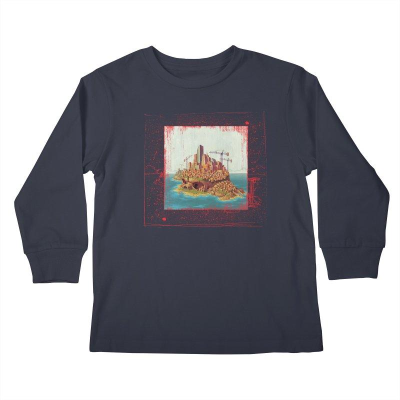Sprawl Kids Longsleeve T-Shirt by Mike Bilz's Artist Shop