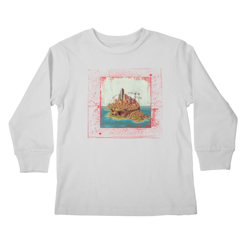 Sprawl Kids Longsleeve T-Shirt by Mike Bilz's Artist Shop