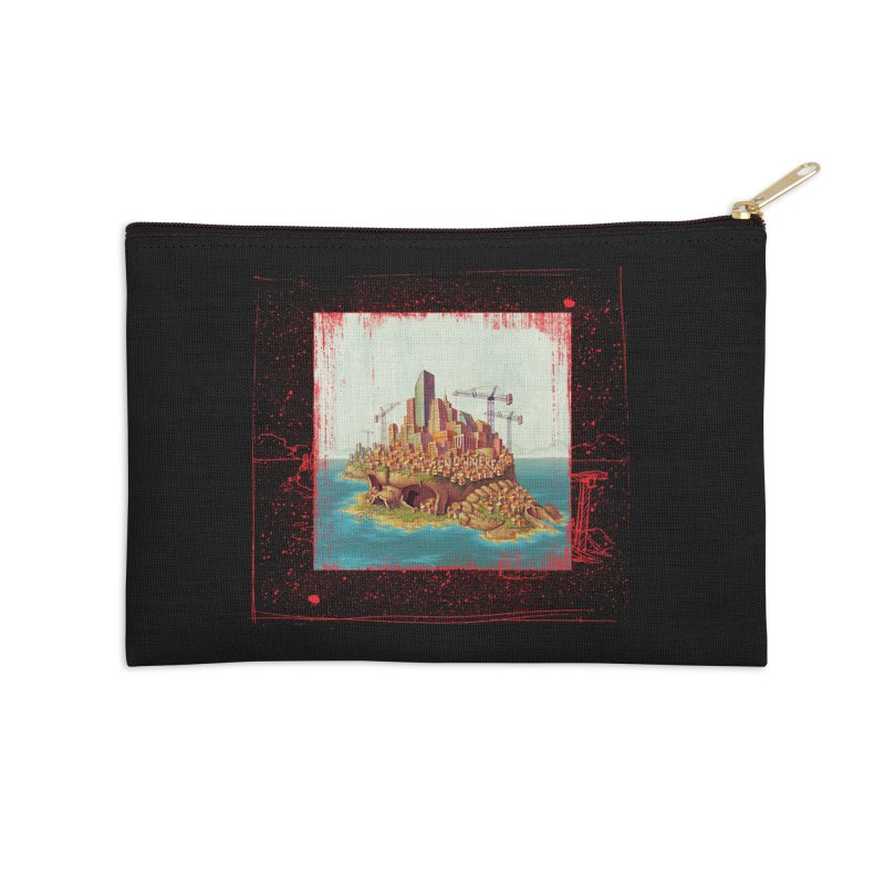 Sprawl Accessories Zip Pouch by Mike Bilz's Artist Shop
