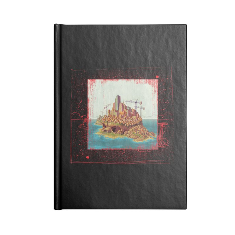 Sprawl Accessories Notebook by Mike Bilz's Artist Shop