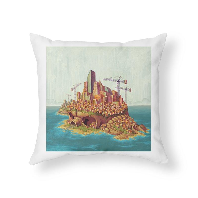 Sprawl (print) Home Throw Pillow by Mike Bilz's Artist Shop