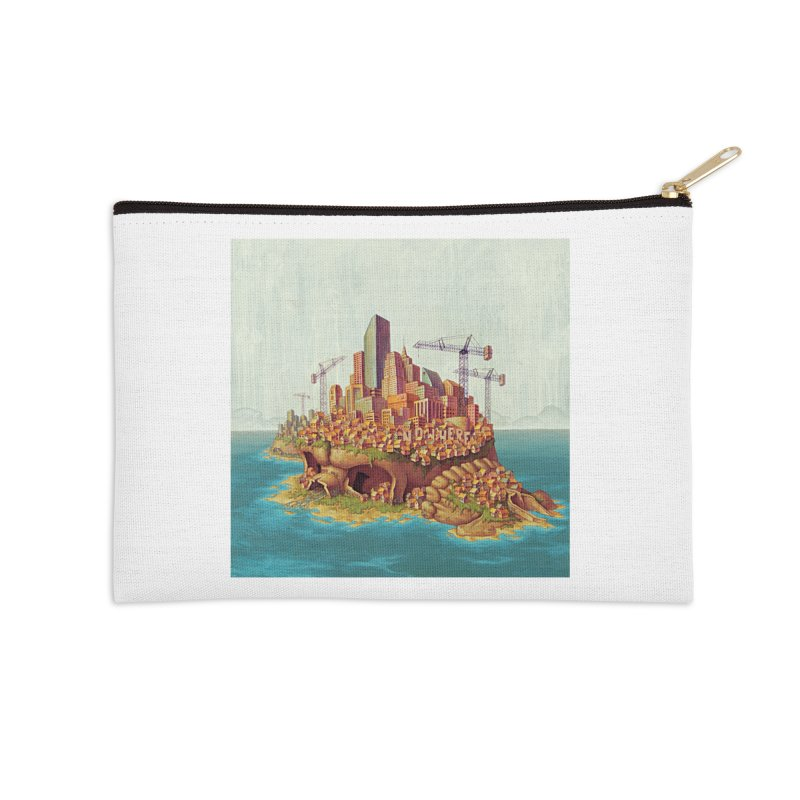 Sprawl (print) Accessories Zip Pouch by Mike Bilz's Artist Shop