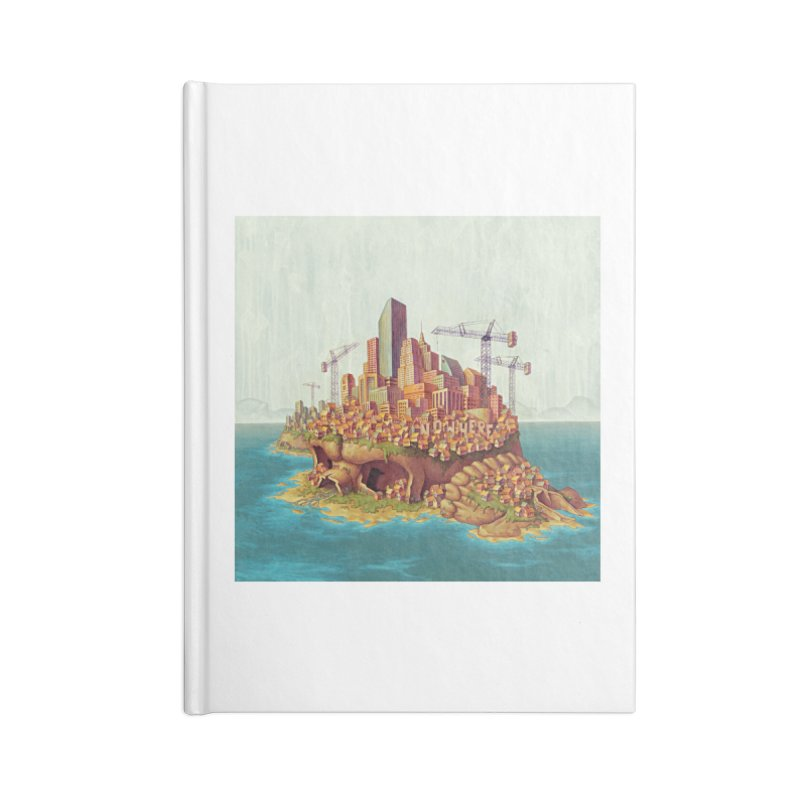 Sprawl (print) Accessories Notebook by Mike Bilz's Artist Shop