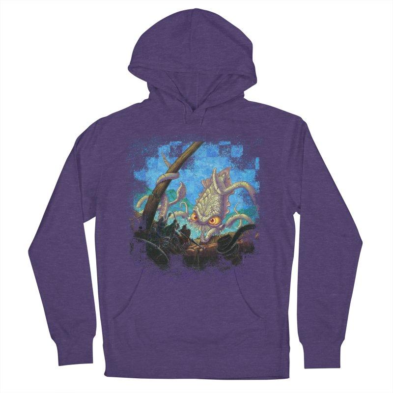 The Kraken Strikes! Women's Pullover Hoody by Mike Bilz's Artist Shop