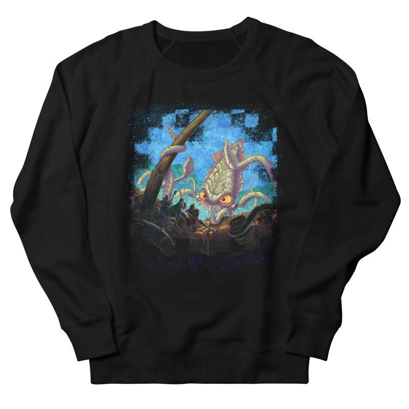 The Kraken Strikes! Women's Sweatshirt by Mike Bilz's Artist Shop