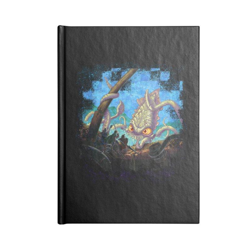 The Kraken Strikes! Accessories Notebook by Mike Bilz's Artist Shop