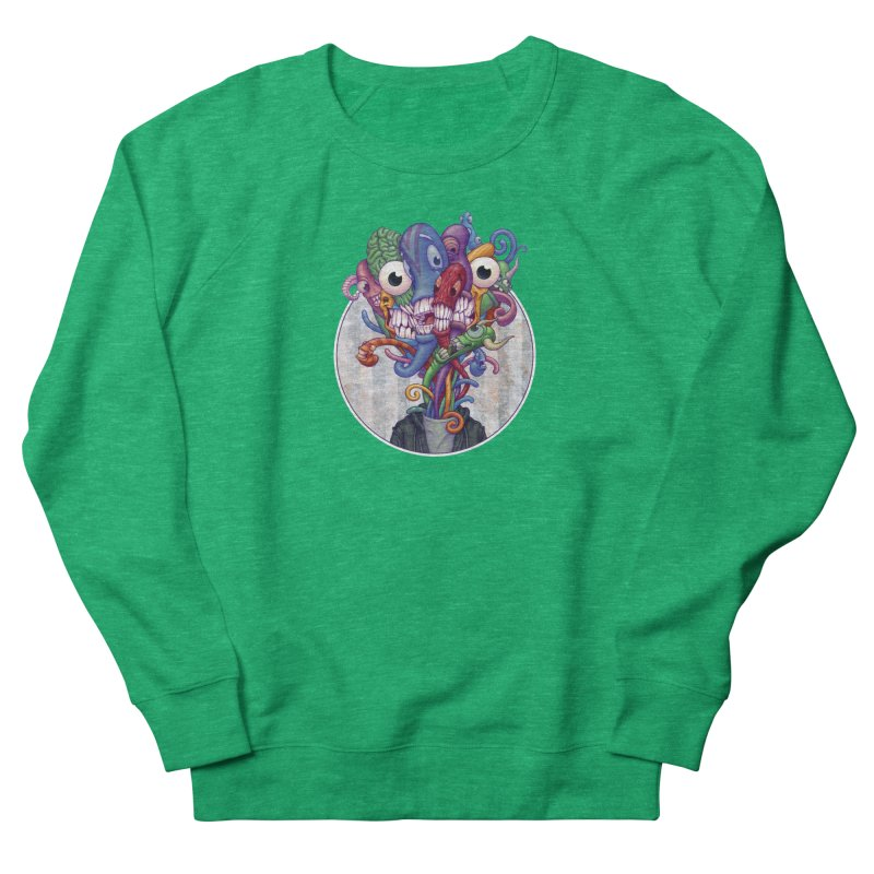Smile, Smile, Smile Men's French Terry Sweatshirt by Mike Bilz's Artist Shop
